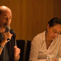 Dr. Waltero Moure y Lic. Ana María Pérez en el VII Foro
