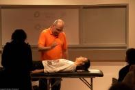 Dr. Alberto Coppola dando su ponencia en el VII Foro