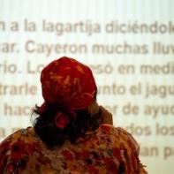Exposición de Fanny Ávila, del pueblo Kuna