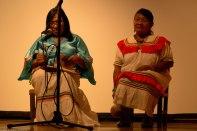 Cantos y relatos Kariña con Morela y Carmen Maneriro