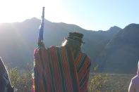 Taita Ullpu en Ceremonia de Intiq Raymin. Catamarca Shinkal, 2012.