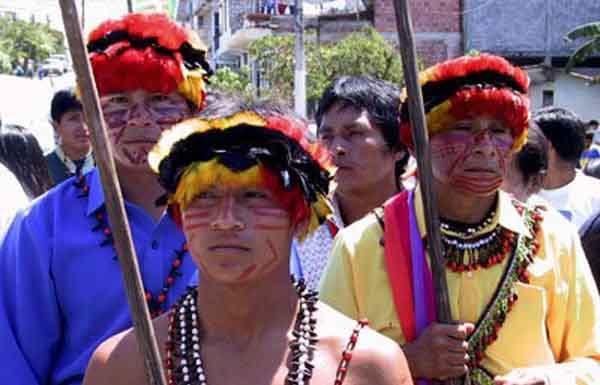 Resultado de imagen para indigenas huambisas