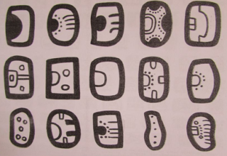 Jeroglíficos Mayas