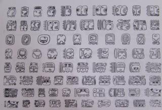 Características y tipos de jeroglíficos Mayas