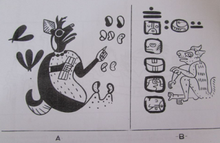 Venados antropomorfos Mochica y Maya